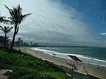 Durban's beautiful seafront panorama