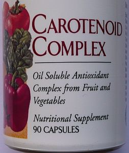 GNLD Carotenoid Complex antioxidants from fruit and vegetables
