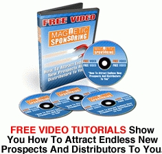 Warm market exhausted? Hate cold calling? Free video tutorials show how to attract new prospects and distributors to you...