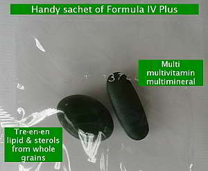 Formula IV Plus sachet with Multi and Tre-en-en