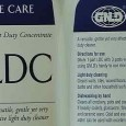GNLD's LDC...very effective, economical, biodegradable cleaner with many uses around the home and office