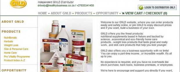 All orders placed online are processed directly and securely by GNLD at our official GNLD Distributor website