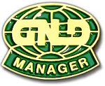 GNLD Manager pin